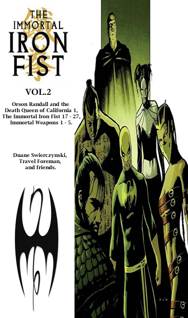 Immortal Iron Fist TOC 2