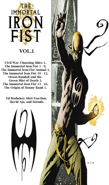 Immortal Iron Fist TOC 1